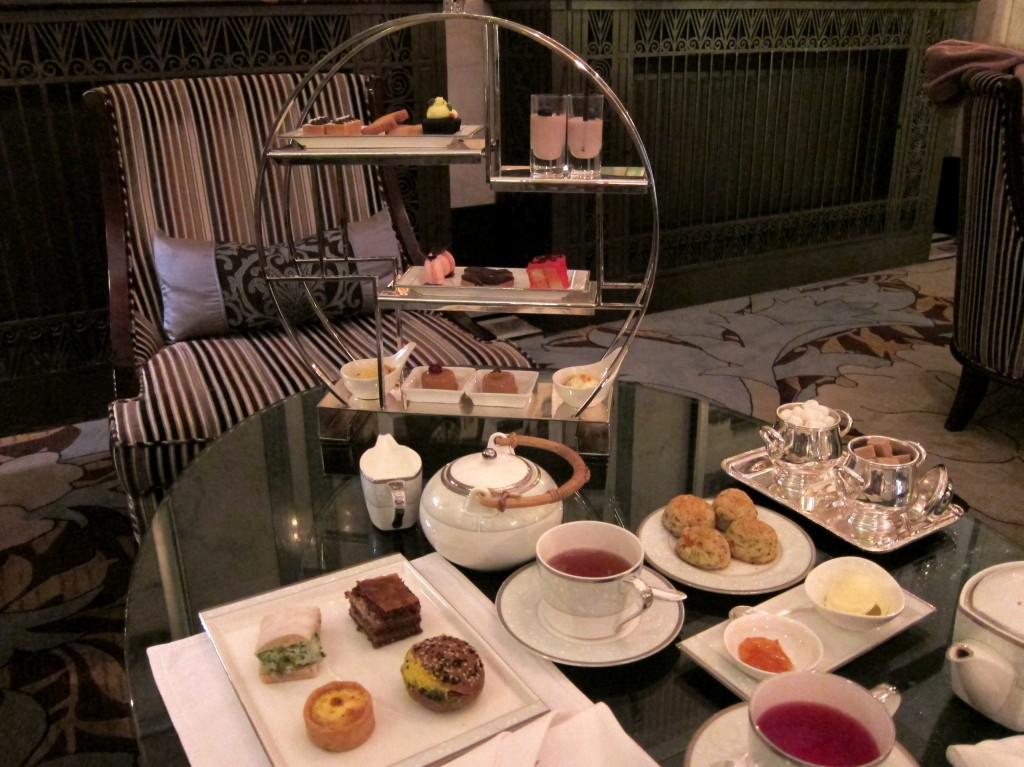 Afternoon Tea At The Fairmont Peace Hotel Shanghai