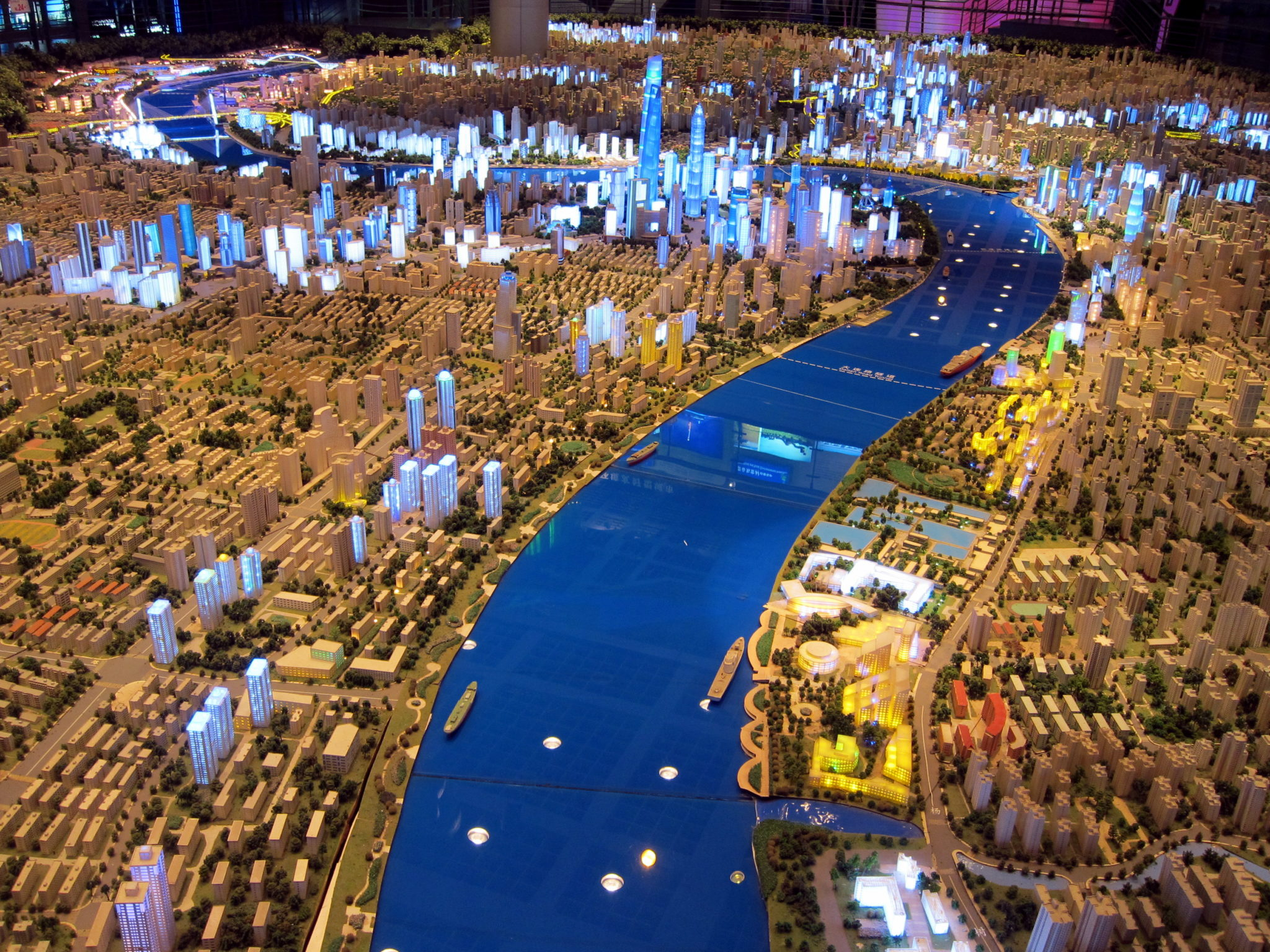 A Glimpse Of The Future Shanghai Urban Planning Museum