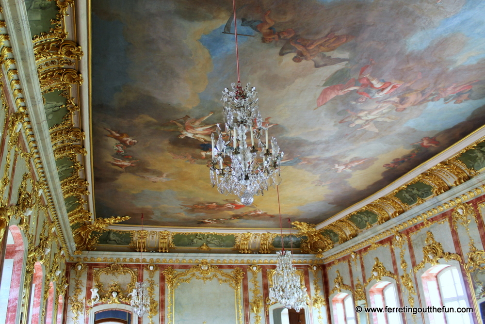 Rundale Palace throne room