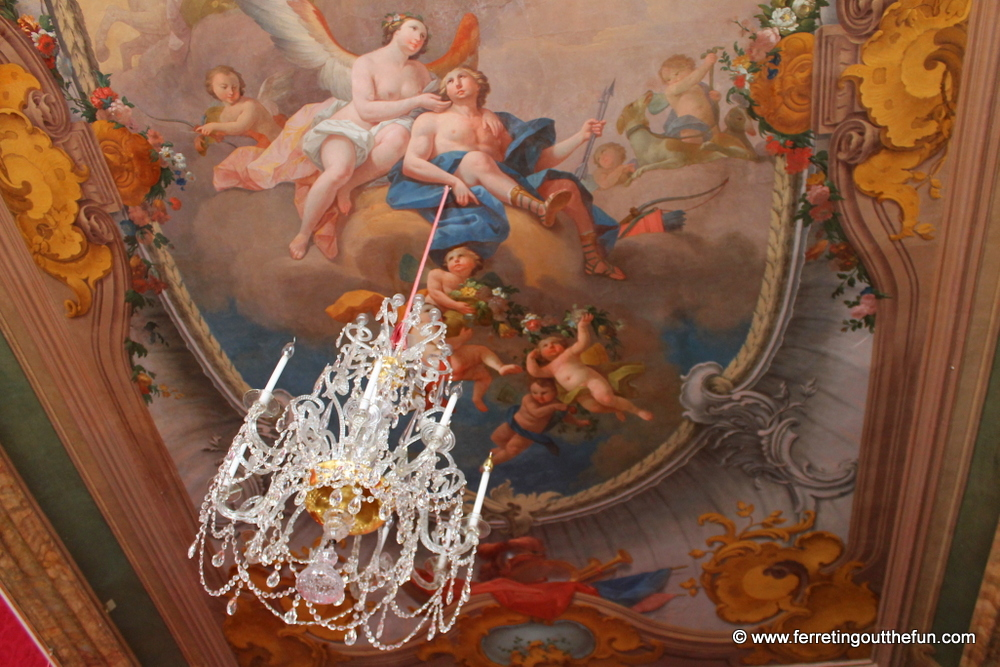 Rundale Palace ceiling