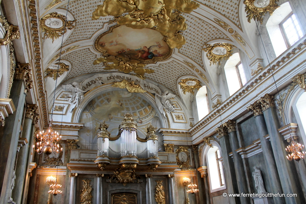 Stockholm palace church