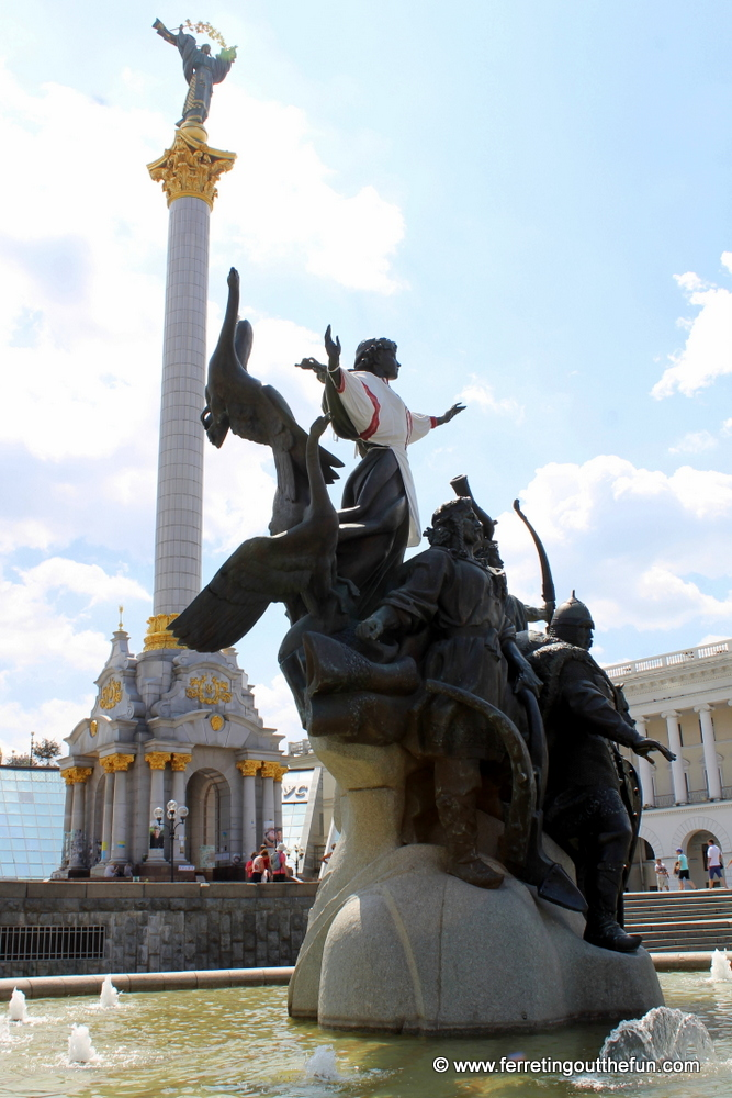 Kyiv Independence Monument