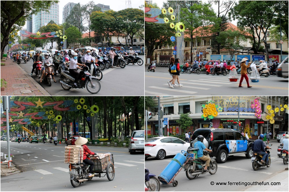 driving in ho chi minh city