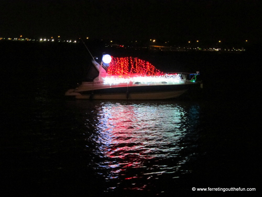 Christmas Boat Parade.Christmas In Dc Holiday Boat Parade Of Lights Ferreting