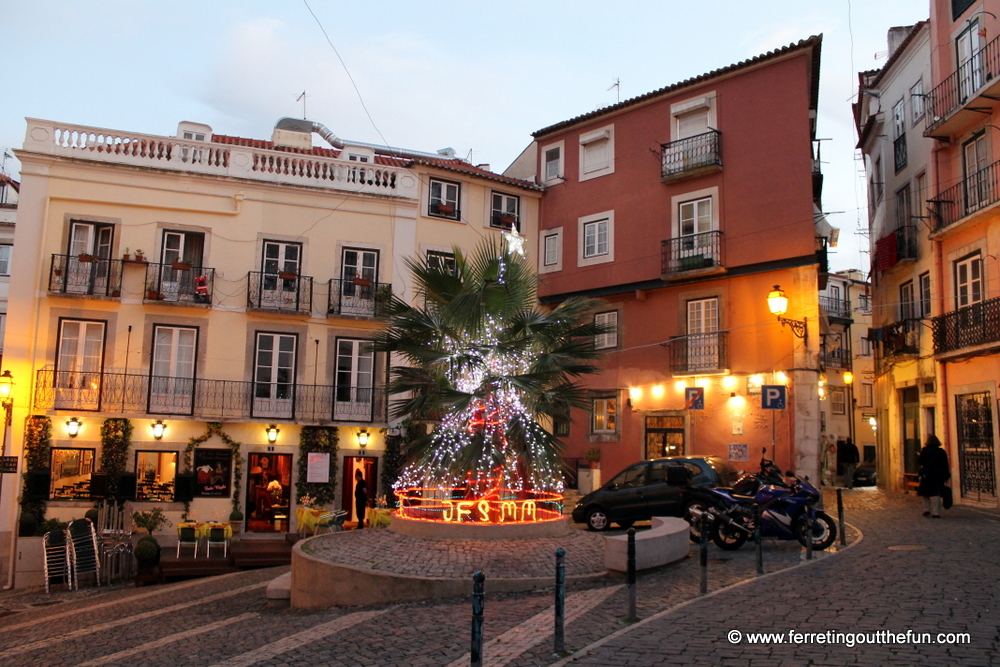 How Do You Say Merry Christmas In Portuguese.A Merry And Bright Christmas In Lisbon Portugal Ferreting Out The Fun