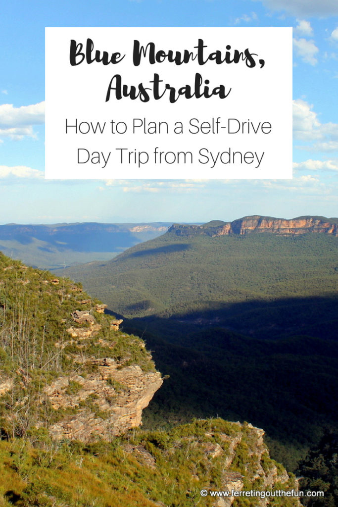 Everything you need to know to plan a self-drive day trip to the Blue Mountains from #Sydney #Australia