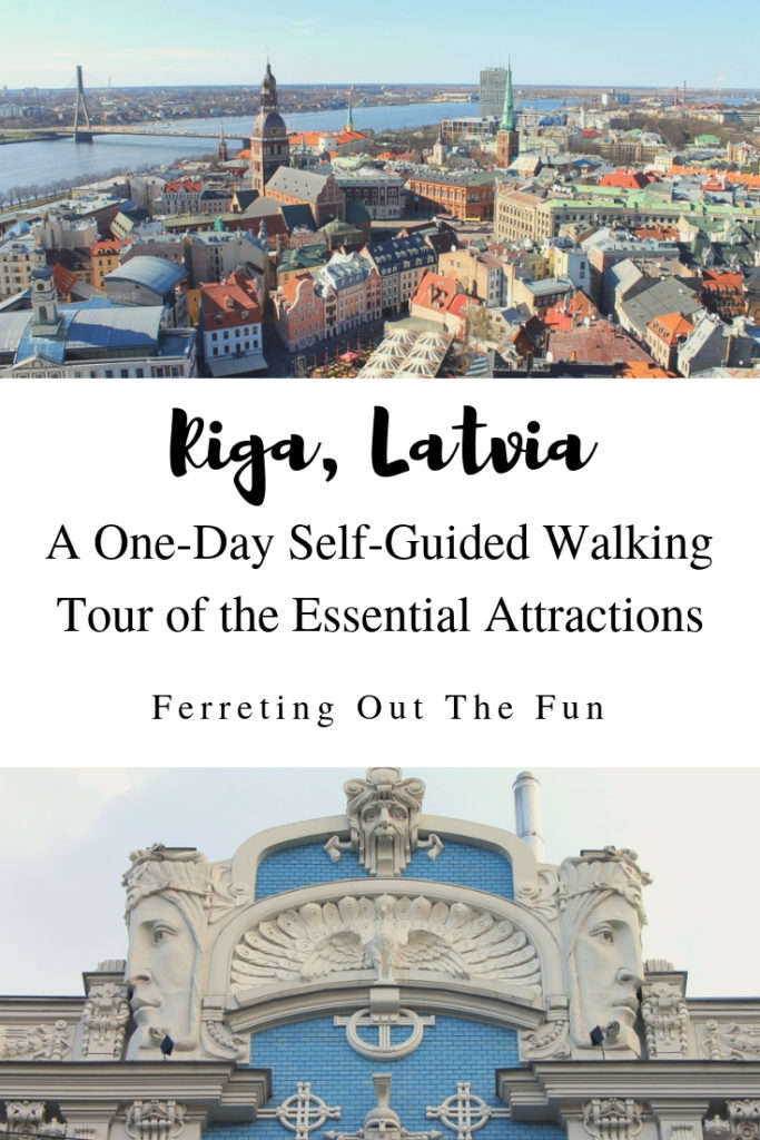 A self-guided one-day walking tour of the essential attractions in #Riga #Latvia // #traveltips